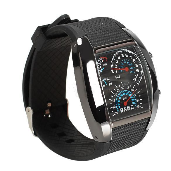 2015 Модные мужские часы светодиодная подсветка наручные часы военные виды спорта метр Цифровые часы для мужчин